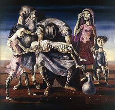 CANDIDO PORTINARI, Criança Morta (Criatura muerta), 1944 (Great brazilian painter)