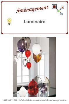 AMÉNAGEMENT : luminaire-💡  Chez MB Links, nous disposons de luminaires in(door) pour créer des atmosphères chaleureuses dans vos intérieurs et out(door) pour illuminer vos soirées en extérieur ! 😊 Contactez-nous si vous êtes à la recherche de lumières au look original ! 📞 ➡️+352 20 211 500 ➡️secretariat@mblinks.lu Visitez notre rubrique aménagement : ➡️www.mblinks-amenagement.lu Banquettes, Lighting, Home Decor, Decorative Mouldings, Decorative Glass, Decoration Home, Booth Seating, Room Decor, Lights