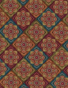 Medallion - Our Fabrics | TIMELESS TREASURES