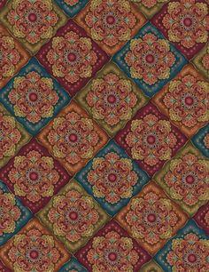 Medallion - Our Fabrics | TIMELESS TREASURES