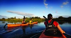 Kayaking our stunning rivers is one of the luxury guided tours we operate.