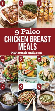 These are 9 of the best Paleo chicken breast recipes that you can make for dinner tonight. Now you have to decide which one your are going to choose.