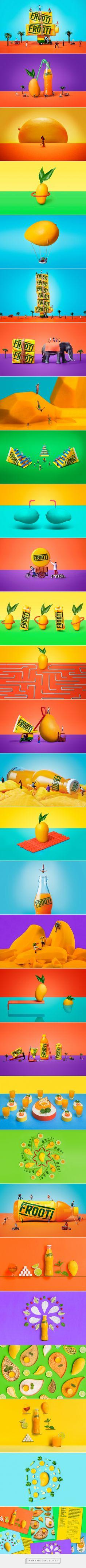 Frooti - Work - Sagmeister & Walsh - created on Sagmeister And Walsh, Stefan Sagmeister, Cover Design, Design Art, Graphic Design, Packaging Design, Branding Design, Text Pictures, Art Direction