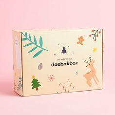 Daebak Box In 2020 Subscription Boxes Best Subscription Boxes Box