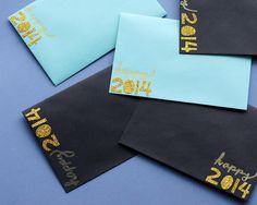 Omiyage Blogs: Send Pretty Mail #56/57/58/59/60 - New Year Wishes