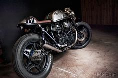 This is pretty much exactly what I want my bike to look like... Honda CX500 Custom