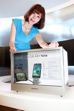 삼성電, 내달 정사각형-투명 디스플레이 출시 - 지디넷코리아