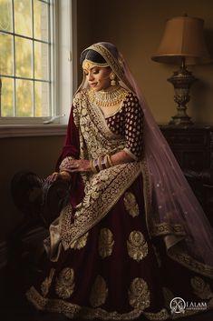 I Alam Photography - South Asian Bride Magazine Bridal Lehenga Online, Designer Bridal Lehenga, Indian Bridal Lehenga, Indian Wedding Gowns, Indian Bridal Outfits, Wedding Lehanga, Bridal Dresses, Wedding Lehenga Designs, Bridal Lehenga Collection