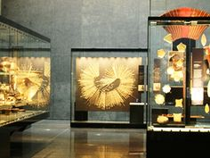 Displays of the Chilean Museum of Pre Colombian Art