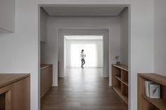 air studio's multiple-in-one spaces prototype complete residence in taiwan Sequence Photography, Good Environment, New Museum, Architectural Models, Architectural Drawings, Open Plan, Taiwan, House Design, Spaces