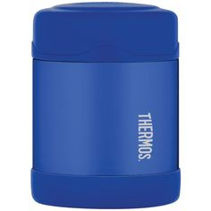 Thermos funtainer ss vacuum insulated food jar 10oz blue f3003bl6