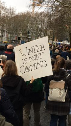 Funny and inspired, discover in pictures the signs for the March for the . - Funny and inspired, discover in pictures the signs for the March for the climate Source by elisadem -