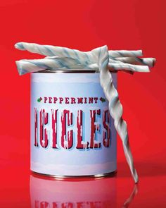 Peppermint Icicles