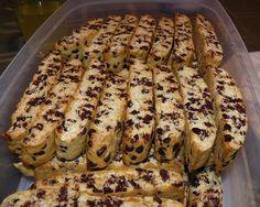 homemade biscotti