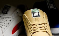 sports shoes 53608 7c1e0 A History of UNDFTD Sneaker CollaborationsUndefeated x PUMA Canvas Clyde  Collection