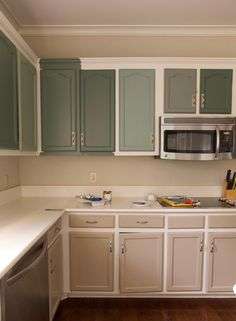 Best green paints for Kitchen cabinets - IHOD