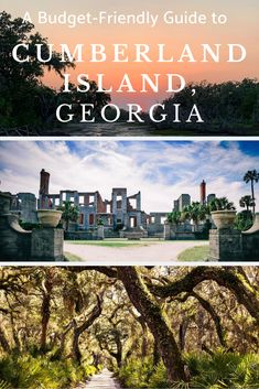 Experience the wonders of Georgia's Cumberland Island without spending a fortune. Hiking In Georgia, Georgia State Parks, Moving To Georgia, Places To Travel, Places To See, Georgia Beaches, Savannah Chat, Savannah Georgia, Travel Humor