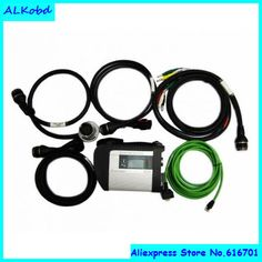 ALKobd Star C4 MUX for mercedes c4 SD connect UDS protocol supported WIFI SD C4 Star wireless diagnostic tool