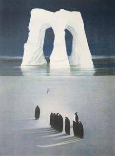 Vebjørn Sand - Ice Cathedral Sand Painting, Painter Artist, First Art, Great Artists, Lovers Art, Different Colors, Scandinavian, Fantasy, Pets