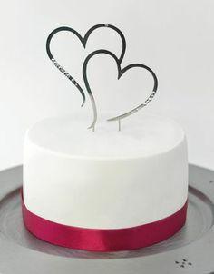 Tortenaufsatz-Sticks - Konzept: DIY- Hochzeit