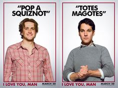Jason Segel and Paul Rudd [it's a two-fer!]