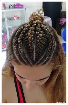 Dreadlocks, Hair Styles, Beauty, Girls Braids, Hair Plait Styles, Hair Makeup, Hairdos, Haircut Styles, Dreads