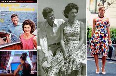 Jackie Kennedy and Sarah Jessica Parker in marimekko dresses