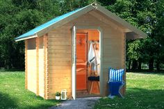 Sauna - a must for the new shack