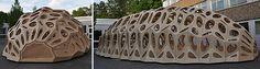 estructura de madera modular arquitectura - Buscar con Google