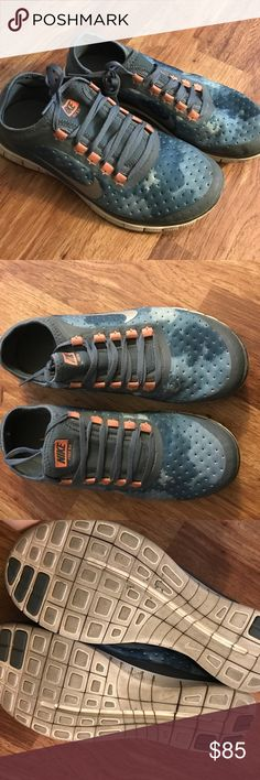 Nike 3.0 Free special edition sneakers Special edition cloud design Nike Free 3.0 sneakers. Hardly worn. Nike Shoes Sneakers