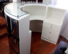 Muebles de recepci n muebles de recepci n moderna mueble for Muebles de oficina zona oeste