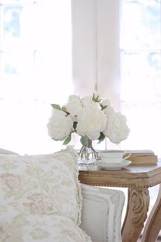 5 inspired decor ideas- Around the World with Balsam Hill - Fresh blooms and pretty sunshine through the french doors... I am savoring every minute of summer before the busy of autumn and...