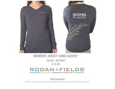 Women's Jersey Long Sleeve #RFConvention
