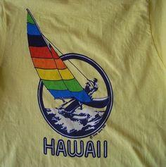 80s Crazy Shirts Beach Surf Hawaii Vintage T Shirt Size Small
