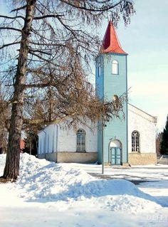 Kärdla Luteri kirik - ehitatud -1861-1863
