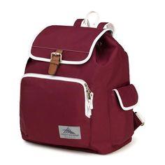High Sierra Cranberry Elly Backpack