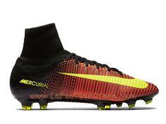 4c71c4c23 Nike Mercurial Superfly V FG Chaussure de football à crampons pour terrain  sec pour Homme Volt