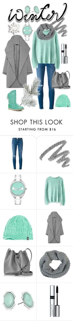 """""""Sweater"""" by kenga08 ❤ liked on Polyvore featuring Frame, Yves Saint Laurent, Fendi, Chicwish, The North Face, Norma Kamali, Lancaster, Barneys New York, Kenneth Cole and By Terry"""