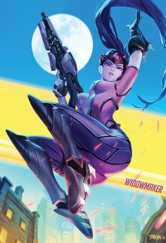 Widowmaker | Overwatch ●by Timinator-Art @Tumblr.com●