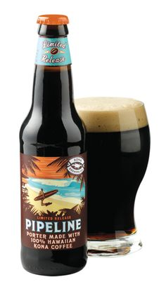 Kona Pipeline Coffee Porter  and I don't like beer, but this tastes like coffee..just so different