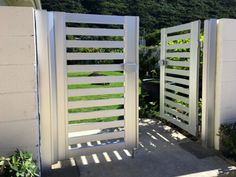 Gate Series — KunkelWorks Grill Gate Design, Steel Gate Design, Front Gate Design, Front Gates, Entrance Gates, Gallery Wall Layout, Door Design Interior, Love Wallpaper, Fence