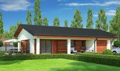 Proiecte de case cu parter si 3 dormitoare - Case practice Design Case, Web Design, Tiny House, Garage Doors, Barn, Interior Design, Outdoor Decor, Modern, Home Decor