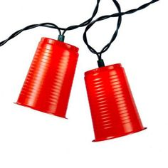 Ten Red Party Cup Party String Lights -