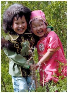 Yakutian children.