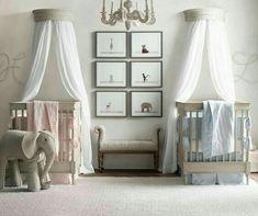 unique nursery room ideas for baby bedroom Nursery Twins, Baby Nursery Bedding, Baby Bedroom, Baby Boy Nurseries, Baby Room Decor, Nursery Room, Boy Room, Nursery Ideas, Bedroom Ideas