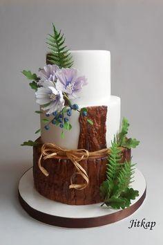 Wedding cake by Jitkap