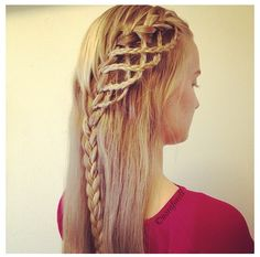 Pretty hair designs