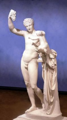Hermes and the Infant Dionysos | Museum of Art and Archaeology