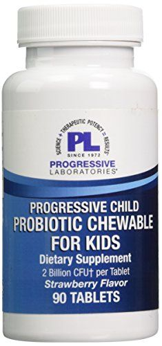 Progressive Labs Childs Probiotic Chewable for Kids Supplement 90 Count -- Find out more about the great product at the image link. (This is an affiliate link) #MultiVitaminsSupplements