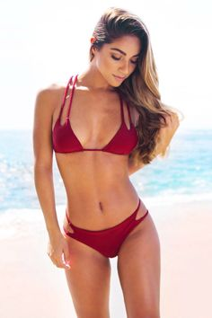 Cupshe Fired Up Retro Bikini Set
